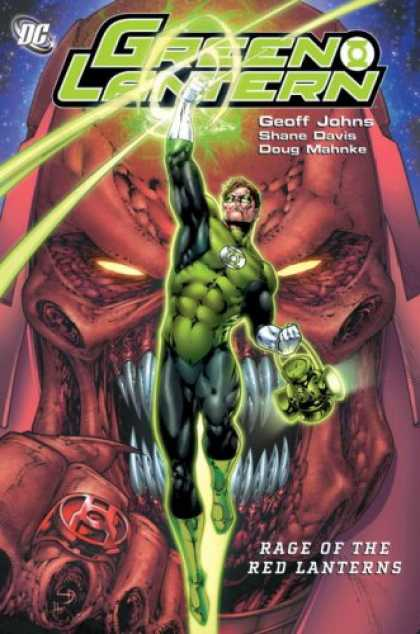 Bestselling Comics (2008) - Green Lantern: Rage of the Red Lanterns by Geoff Johns