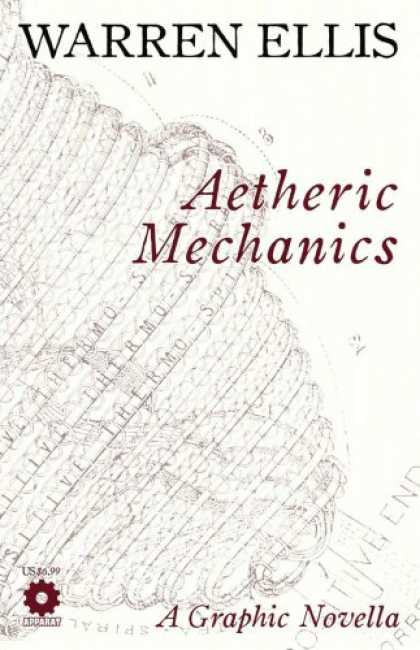 Bestselling Comics (2008) - Aetheric Mechanics by Warren Ellis - Warren Ellis - Aetheric Mechanics - A Graphic Novella - Appart - Thermo
