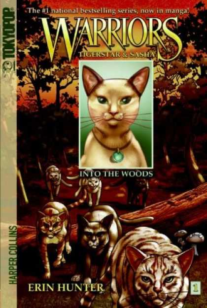 Bestselling Comics (2008) - Warriors: Tigerstar and Sasha #1: Into the Woods by Erin Hunter