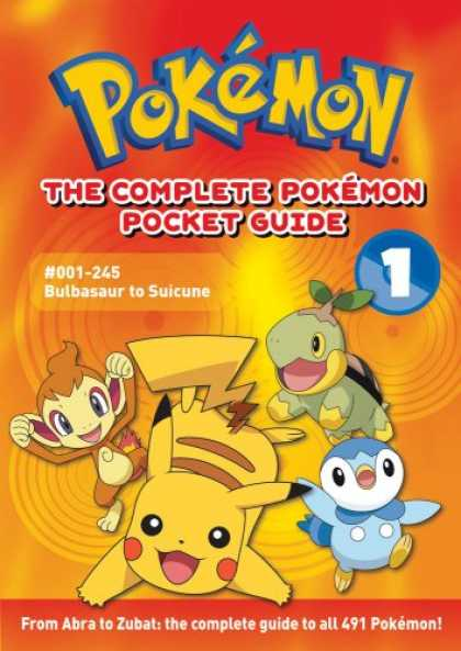 Bestselling Comics (2008) - The Complete Pokémon Pocket Guide: Volume 1