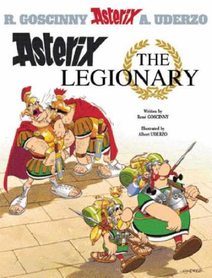 Bestselling Comics (2008) - Asterix the Legionary (Book 10) by Rene Goscinny
