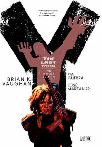 Bestselling Comics (2008) - Y The Last Man Deluxe Edition Book Two by Brian K. Vaughan