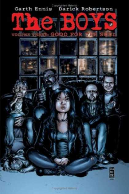 Bestselling Comics (2008) - The Boys Vol. 3: Good for the Soul by Garth Ennis