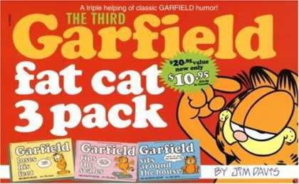Bestselling Comics (2008) - Garfield Fat Cat Three Pack Volume III (No.3) by Jim Davis - A Triple Helping Of Classic Garfield Humor1 - The Third Garfield - Fat Cat 3 Pak - Jim Davis - 1095