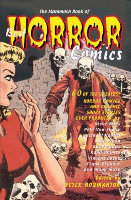 Bestselling Comics (2008) - The Mammoth Book of Best Horror Comics