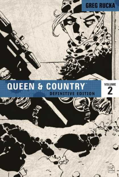 Bestselling Comics (2008) - Queen & Country: The Definitive Edition, Vol. 2 by Greg Rucka - Greg Rucka - Volume 2 - Queen U0026 Country - Definitive Edition - Gun