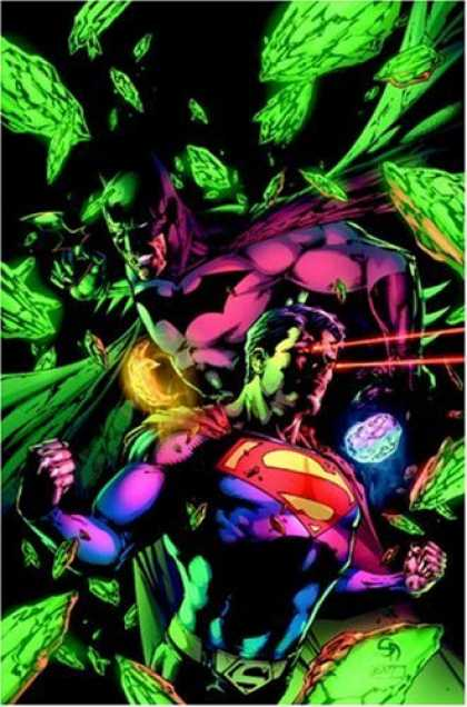 Bestselling Comics (2008) - Superman/Batman: The Search for Kryptonite by Michael Green - Superman - Batman - Green Shards - Muscles - Kryptonite
