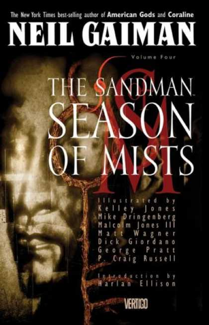 Bestselling Comics (2008) - Season of Mists (The Sandman, Vol. 4) by Neil Gaiman - Sandman - Mist - Vertigo - Nail Gaiman - Best-selling Author