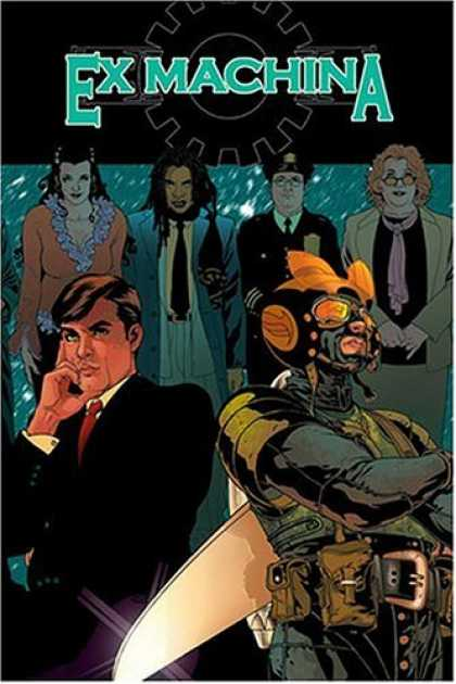 Bestselling Comics (2008) - Ex Machina, Vol. 1: The First Hundred Days by Brian K. Vaughan - Ex Machina - Man - Woman - Superhero - Captain