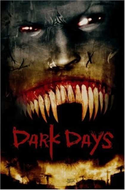 Bestselling Comics (2008) - Dark Days (30 Days of Night, Book 2) by Steve Niles - Dark Days - Fire - Villahe - Teetg - Blood