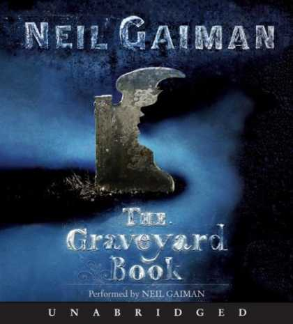 Bestselling Comics (2008) - The Graveyard Book CD - Neil Gaima - The Graveyard Book - Broken Tomb Stone - Thick Fog - Dark Shadows