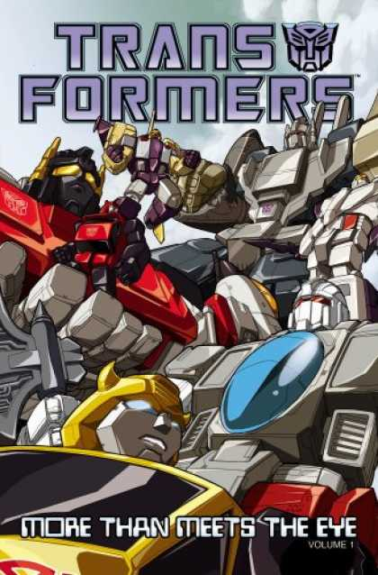 Bestselling Comics (2008) - Transformers: More Than Meets the Eye Volume 1 by James McDonough