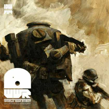 Bestselling Comics (2008) - World War Robot by Ashley Wood - Helmet