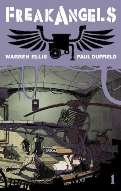 Bestselling Comics (2008) - Freakangels Volume 1 TP by Warren Ellis