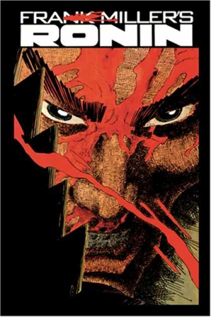 Bestselling Comics (2008) - Absolute Ronin by Frank Miller - Frank Millers - Ronin - Monster Face - Superhero - Villian