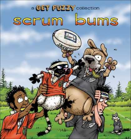 Bestselling Comics (2008) - Scrum Bums: A Get Fuzzy Collection (Get Fuzzy (Graphic Novel)) by Darby Conley