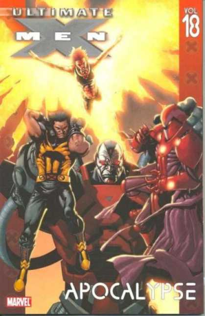 Bestselling Comics (2008) - Ultimate X-Men Vol. 18: Apocalypse (v. 18) by Robert Kirkman - Ultimate Men - Marvel - Apocalypse - Vol 18 - Battle