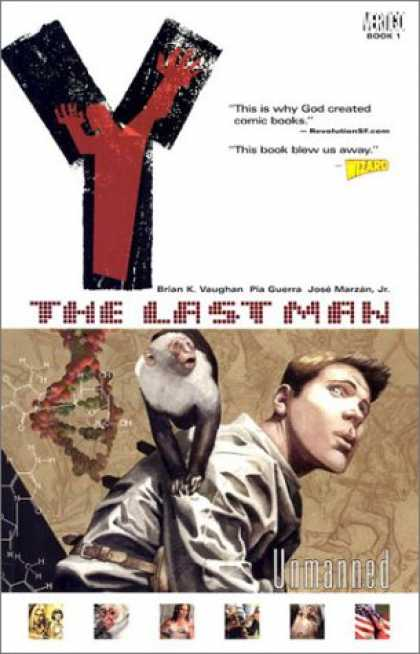Bestselling Comics (2008) - Unmanned (Y: The Last Man, Vol. 1) by Brian K. Vaughan