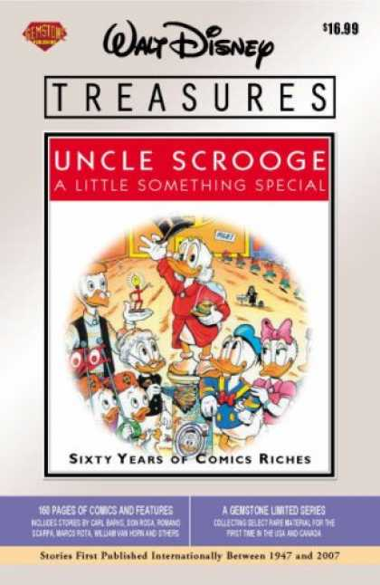 Bestselling Comics (2008) - Walt Disney Treasures - Uncle Scrooge: A Little Something Special by Don Rosa