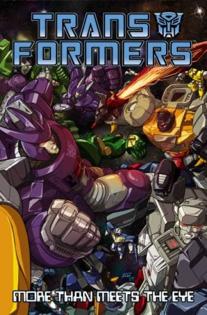 Bestselling Comics (2008) - Transformers: More than Meets the Eye Volume 2 (v. 2) by James McDonough - Transformers - More Than Meets Than Eye - Fire - Fight - Machine