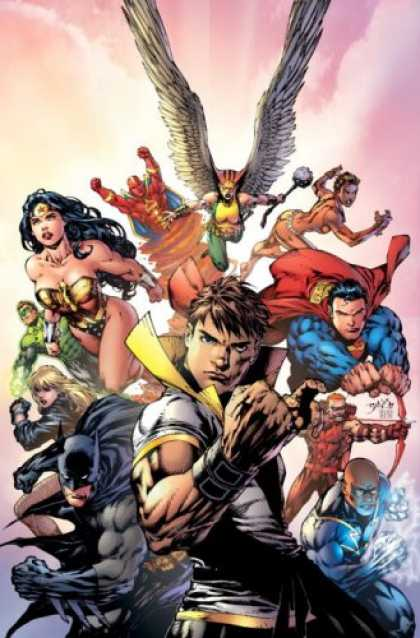 Bestselling Comics (2008) - Countdown to Final Crisis, Vol. 2 by Paul Dini - Winged Man - Superman - Super Heroes - Batman - Muscles