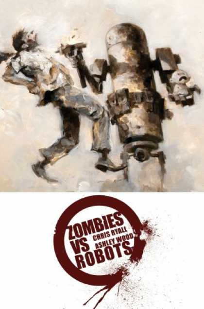 Bestselling Comics (2008) - Complete Zombies Vs. Robots by Chris Ryall - Zombies Vs Robots - Chris Ryall - Ashley Wood - Baby - Gun