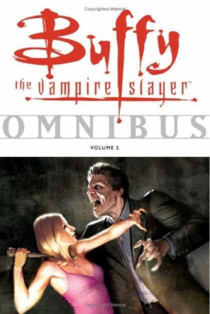 Bestselling Comics (2008) - Buffy the Vampire Slayer Omnibus, Vol. 2 (v. 2) by Various - Vampire - Omnibus Volume 2 - Dagger - Pink Dress - Vampire Attack