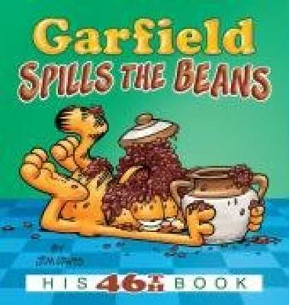 Bestselling Comics (2008) - Garfield Spills the Beans: His 46th Book by Jim Davis - Spills The Beans - Garfield - His 46th Book - Cat - A Jar