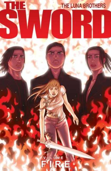 Bestselling Comics (2008) - The Sword Volume 1: Fire by Jonathan Luna