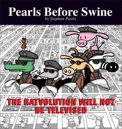 Bestselling Comics (2008) - The Ratvolution Will Not Be Televised: A Pearls Before Swine Collection by Steph