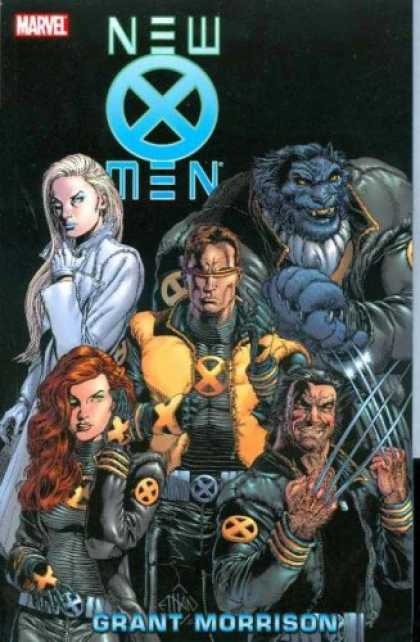 Bestselling Comics (2008) - New X-Men, Vol. 2 by Grant Morrison - Monsters - Hero - Fantastic - Redhead - Lion