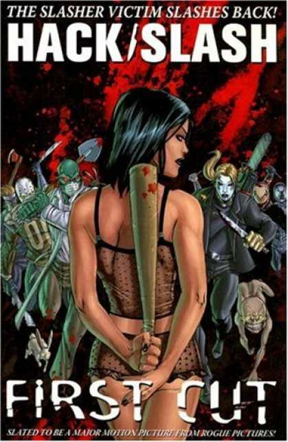 Bestselling Comics (2008) - Hack / Slash Volume 1: First Cut (Hack Slash) (v. 1) by Tim Seeley