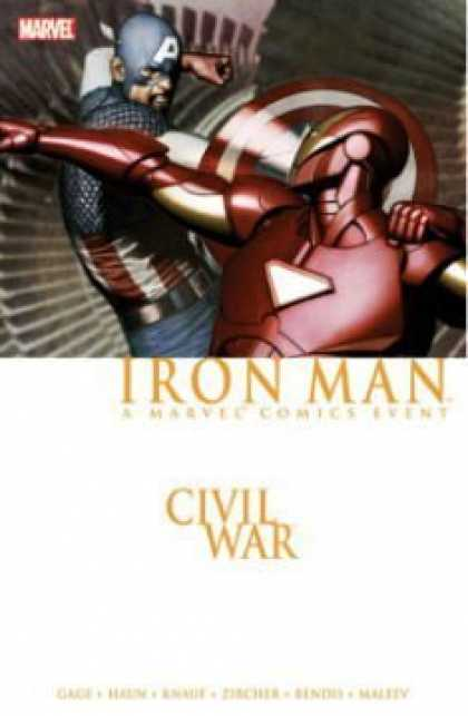 Bestselling Comics (2008) - Iron Man, Vol. 3: Civil War by Brian Michael Bendis