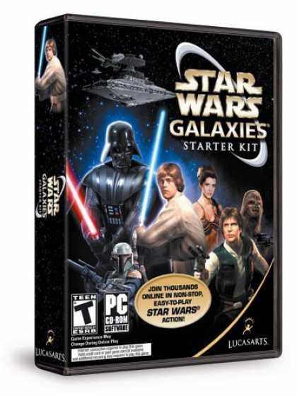 Bestselling Games (2006) - Star Wars Galaxies: Starter Kit