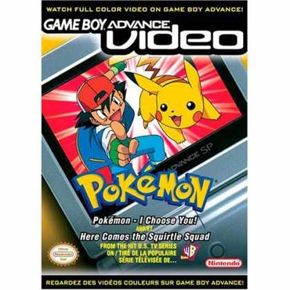 Bestselling Games (2006) - Pokemon I Choose You and Here Comes the Squirtle Squad