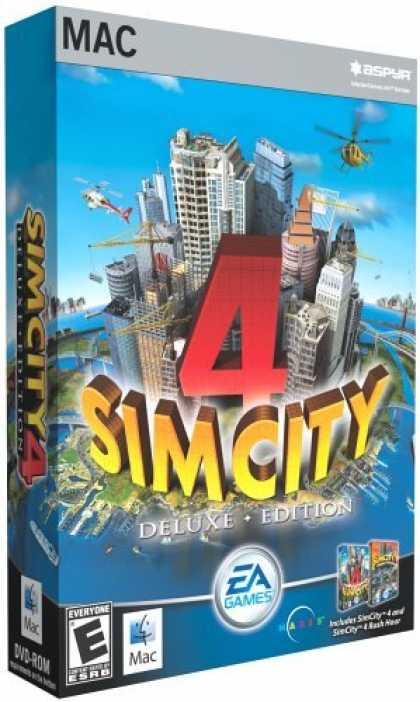 Bestselling Games (2006) - Sim City 4 Deluxe (Mac)