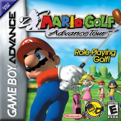 Bestselling Games (2006) - Mario Golf Advance Tour