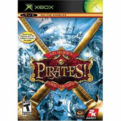 Bestselling Games (2006) - Sid Meier's Pirates Live The Life