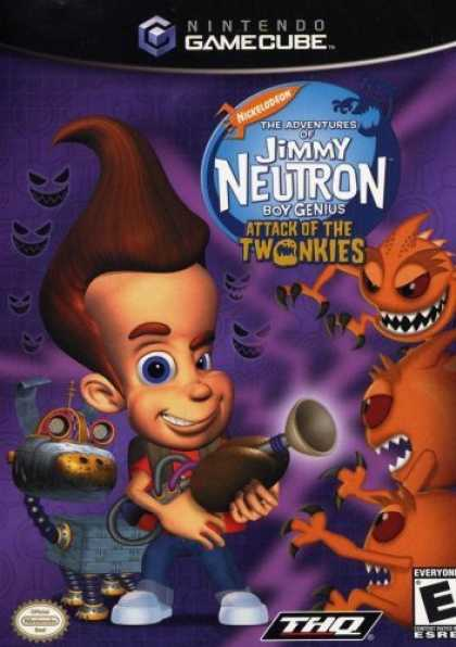 Bestselling Games (2006) - Jimmy Neutron Attack of the Twonkies