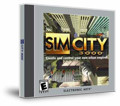 Bestselling Games (2006) - SimCity 3000 (Jewel Case)