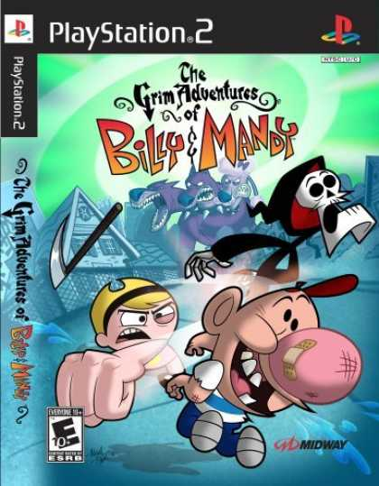 Bestselling Games (2006) - PS2 Grim Adventures of Mandy and Billy