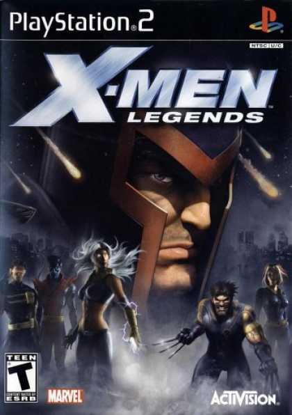 Bestselling Games (2006) - X-Men Legends