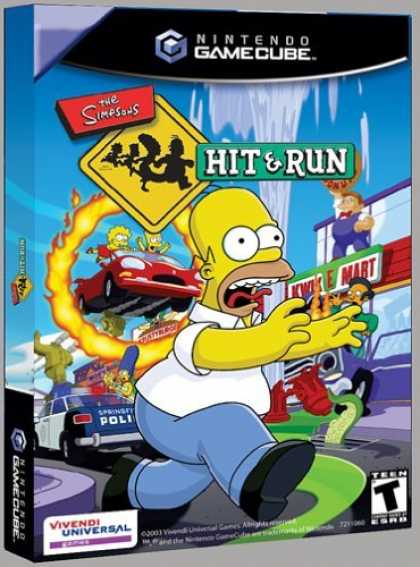Bestselling Games (2006) - Simpsons Hit and Run