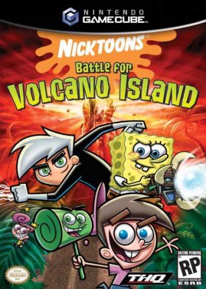 Bestselling Games (2006) - Nicktoons Battle Volcano