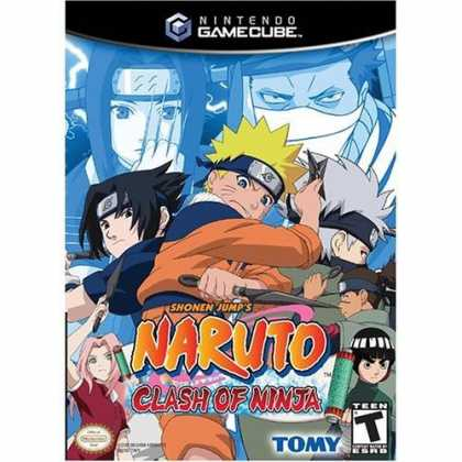 Bestselling Games (2006) - Naruto Clash of Ninja