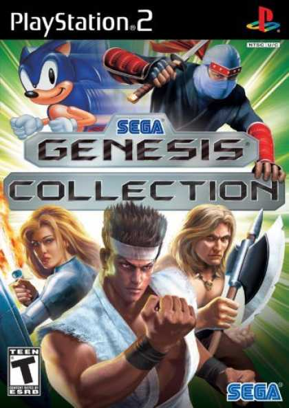 Bestselling Games (2006) - Sega Genesis Collection