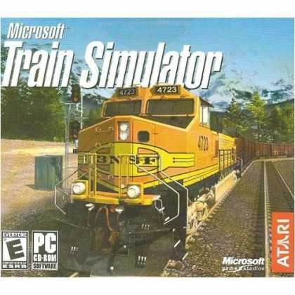 Bestselling Games (2006) - Train Simulator (Jewel Case)