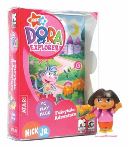 Bestselling Games (2006) - Dora the Explorer: Fairytale Adventures PC Play Pack