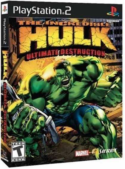 Bestselling Games (2006) - Incredible Hulk Ultimate Descruction