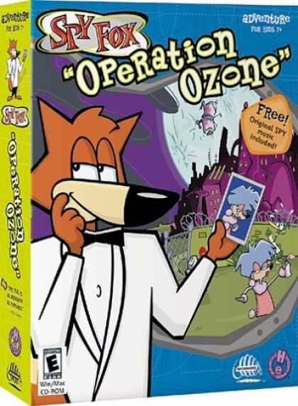 Bestselling Games (2006) - Spy Fox 3: Operation Ozone (Jewel Case)